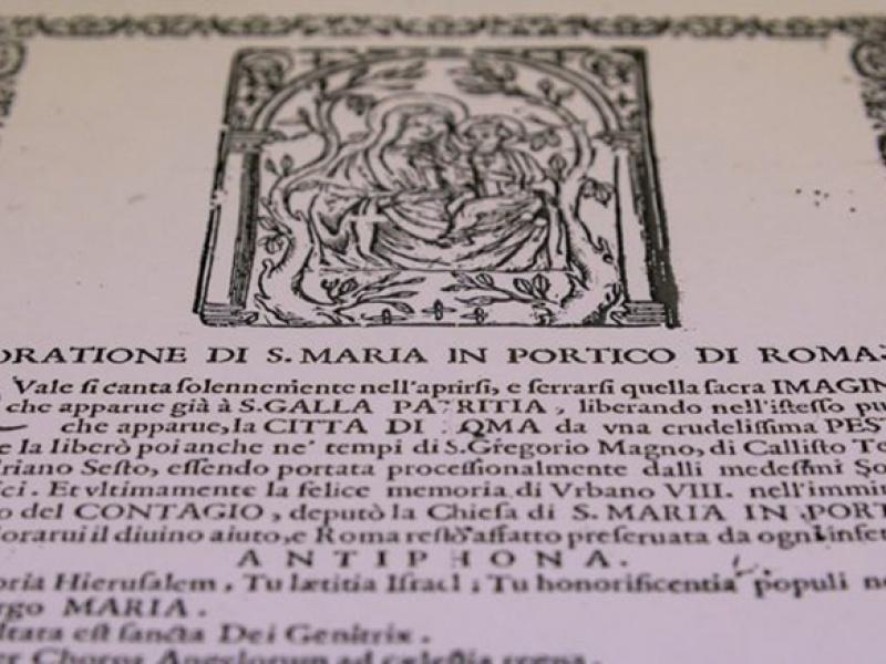 La Chiesa di Roma durante la peste del 1656/57