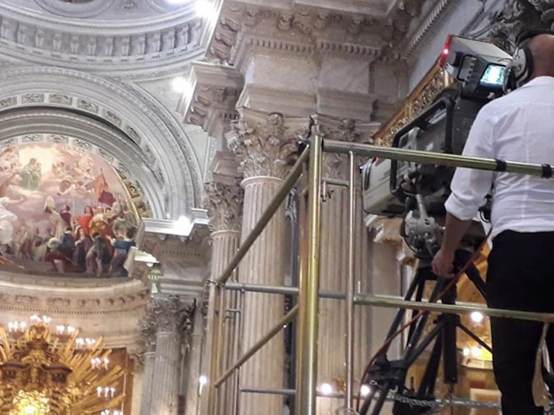 Santa Messa in diretta Rai Uno da Campitelli