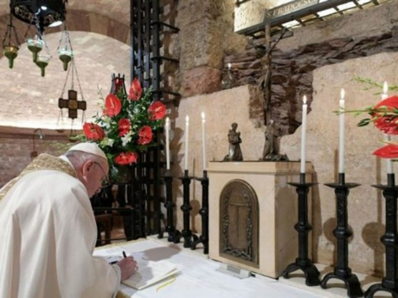 """In diretta la presentazione dell'Enciclica """"Fratelli tutti"""""""